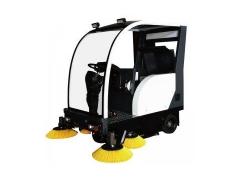 蒙德尔MS-1800电动半封闭驾驶式扫地机扫地车